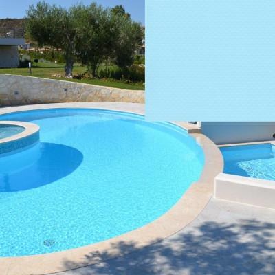 Лайнер для бассейна Лайнер SBG 150 ELBEblue 1.65 м Light blue