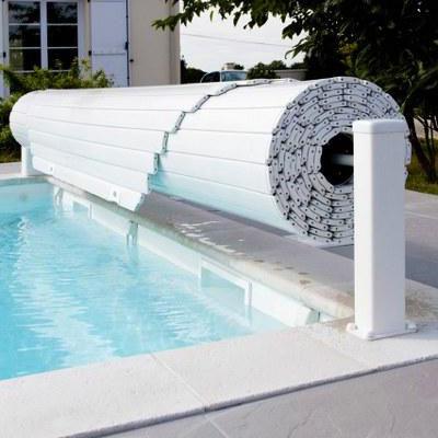 Ролеты для бассейна накрытие для бассейна EcoProtect 8х4м