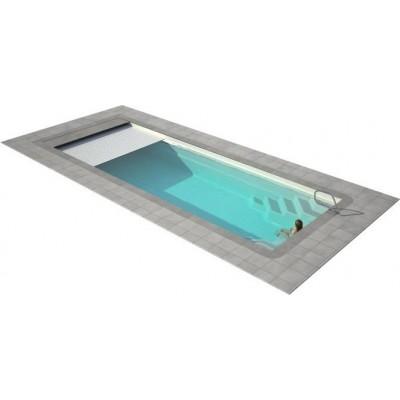 Ролеты для бассейна ролетное накрытие для бассейна подводная Protect 9х5м