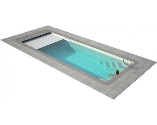 Ролетное накрытие для бассейна подводная Protect 9х5м